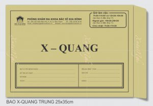In Bao Thư X-Quang