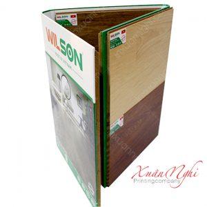 Bìa Catalogue sàn gỗ cao cấp